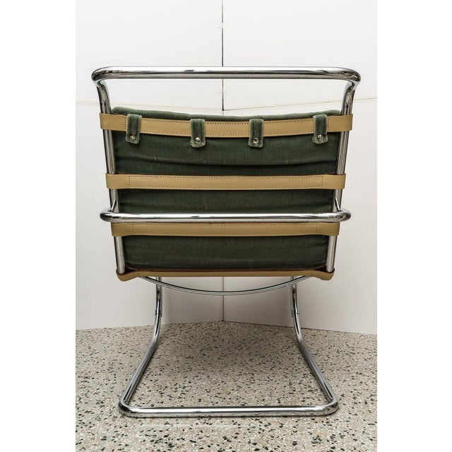 Mies Van Der Rohe 1927 Design Style Lounge Chair - 5 Are Available For Sale - Image 11 of 13