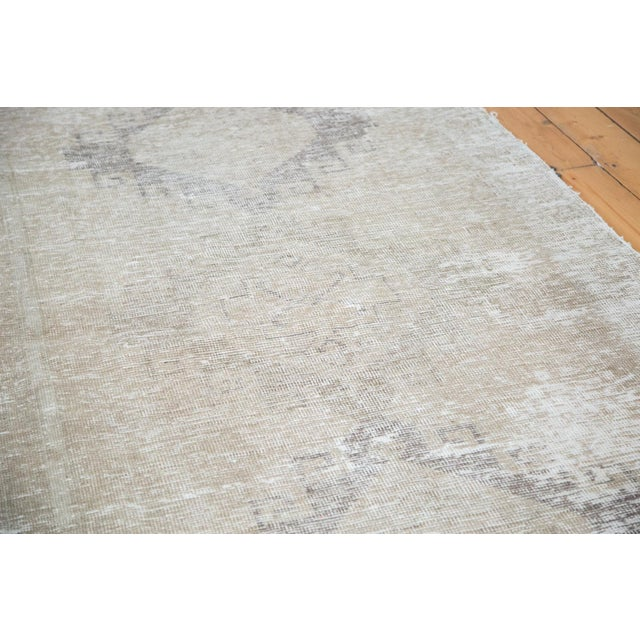 "Distressed Oushak Runner - 4'4"" X 12'9"" - Image 6 of 9"