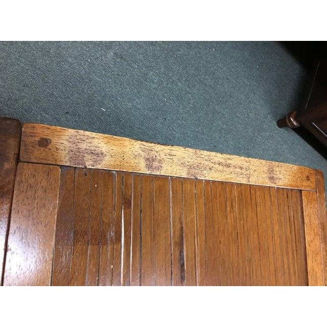 Vintage Sliding Top Trunk Table For Sale - Image 5 of 10