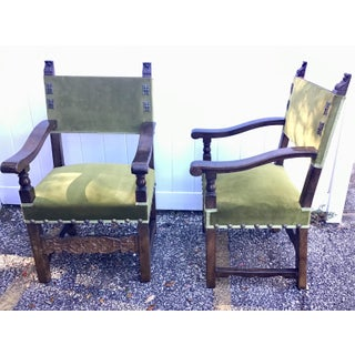 Italian Style Armchairs Late 19th Century Preview