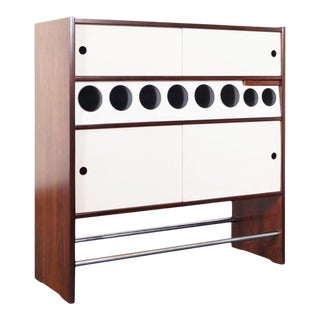 1960s Danish Modern Rosewood Hm3 Dry Bar by Poul Heltborg For Sale