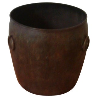 Maitland-Smith Metal Planter For Sale