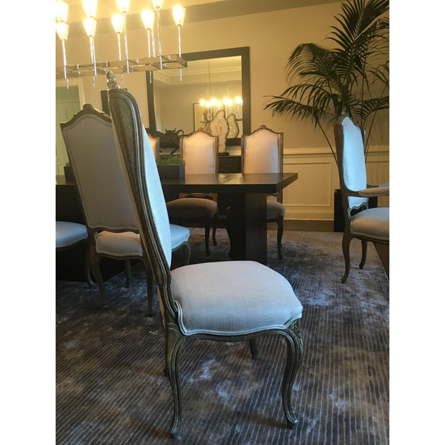 French Louis XVI Style Dining Chairs - Set of 12 - Image 4 of 11