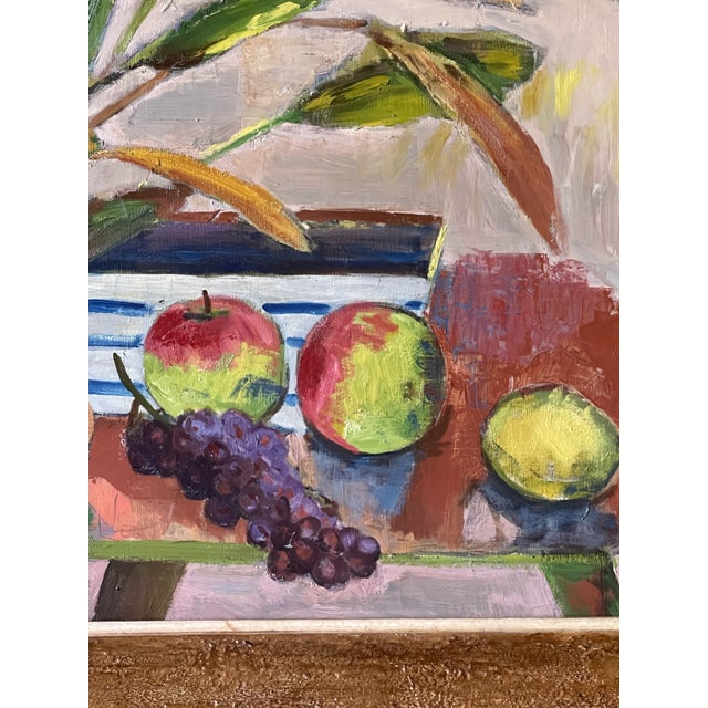 Midcentury Botanical Still Life Painting For Sale - Image 11 of 12