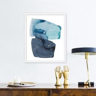 "Medium ""Watercolor Study Artic Ocean"" Print by Kate Roebuck, 20"" X 24"" Preview"