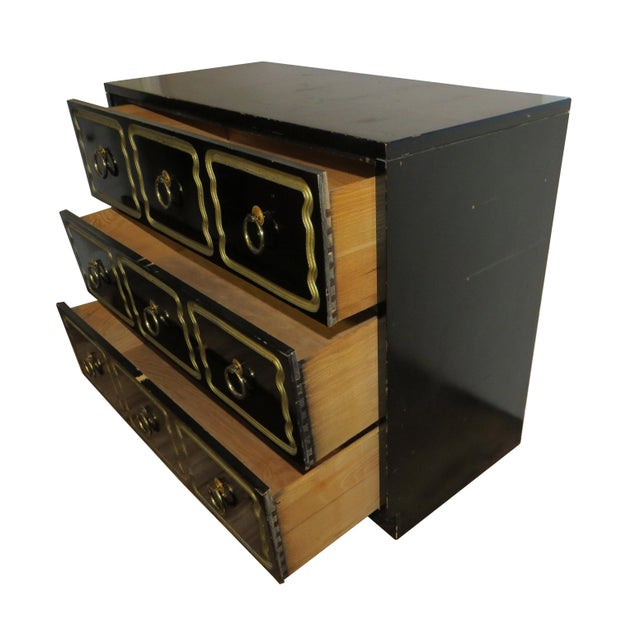 1950s Vintage Dorothy Draper Espana Style Chest of Drawers For Sale - Image 9 of 11