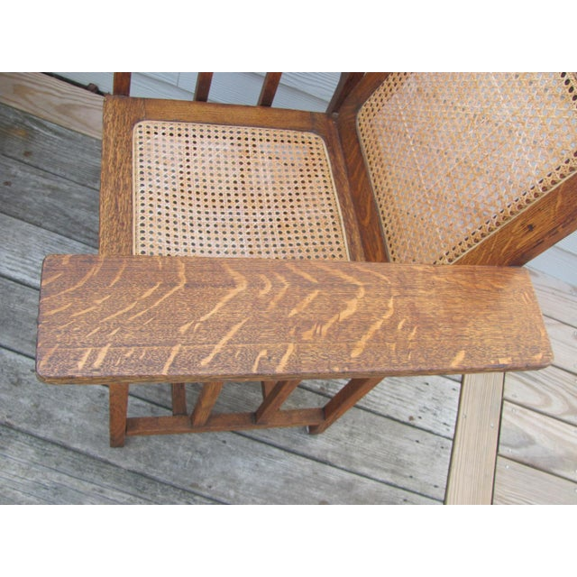 Wood Early 20th Century Vintage David Walcott Kendall Craftsman Kendall Chair For Sale - Image 7 of 12