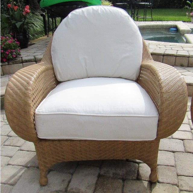 Oscar De La Renta by Century Furniture Accent Chairs - a Pair For Sale In West Palm - Image 6 of 9