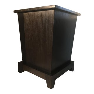 Oak Wastepaper Basket or Trash Can