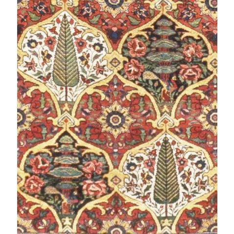 """Islamic Antique Persian Bakhtiar Rug - 10'4""""x 14'1"""" For Sale - Image 3 of 3"""