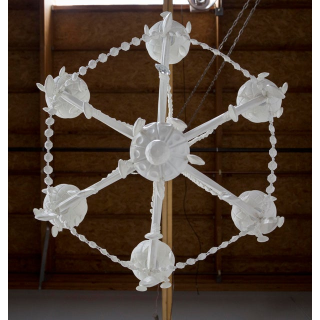 White The Rubber Chandelier by Tobias Wong For Sale - Image 8 of 13