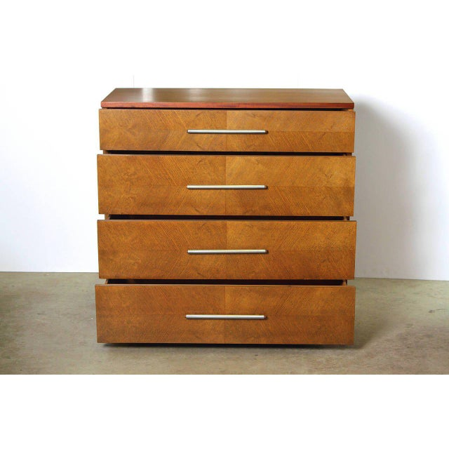 Art Deco Gilbert Rohde Herman Miller Art Deco 1933 World's Fair Dressers Matched Pair For Sale - Image 3 of 11