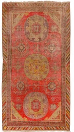 Image of Persimmon Traditional Handmade Rugs
