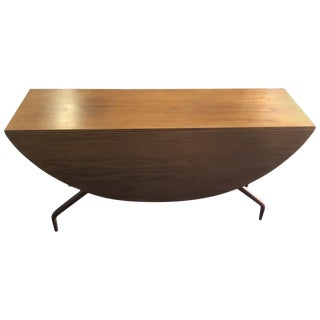 Greta Grossman Drop-Leaf Dining Table Midcentury For Sale