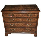 Image of Early 19th Century Walnut Chest of Drawers For Sale