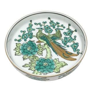 Vintage Gold Imari Porcelain Dish For Sale