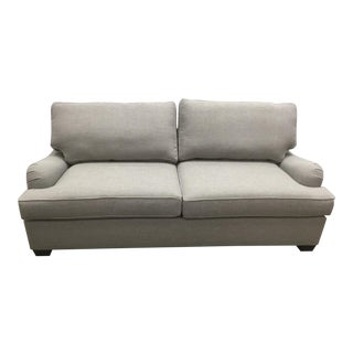 English Arm Upholstered Sleeper Sofa With Memory Foam Mattress For Sale