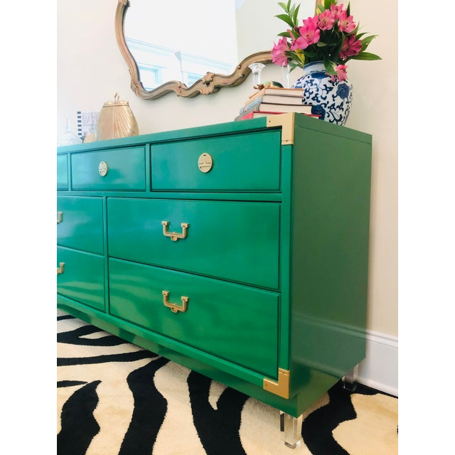 Thomasville Hollywood Regency Sideboard For Sale - Image 9 of 12