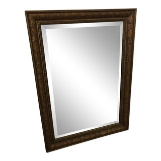 Traditional Gold Framed Mirror For Sale