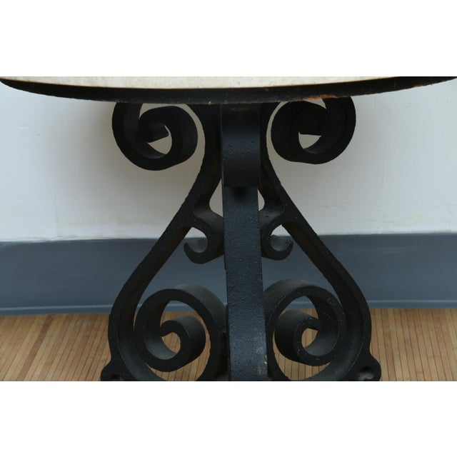 Wrought Iron Small Side Table - Image 6 of 11