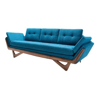 Mid Century Style Pearsall Sofa For Sale
