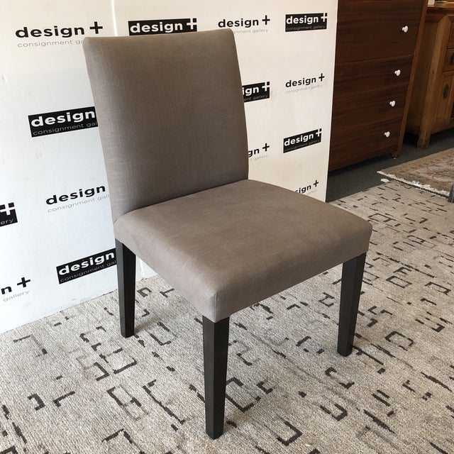 Contemporary New Dutch Side Chairs by Beverly Furniture, a Pair For Sale - Image 3 of 11
