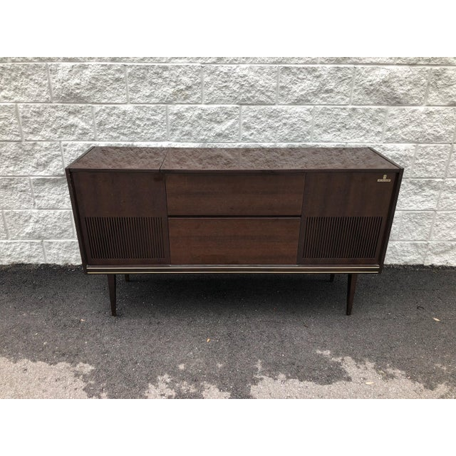 Fully-restored, fully-functioning Grundig Record console. Grundig was founded in Germany circa 1945 and is one of the...