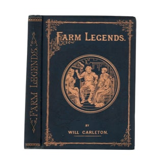 """1887 """"Farm Legends"""" Collectible Book For Sale"""