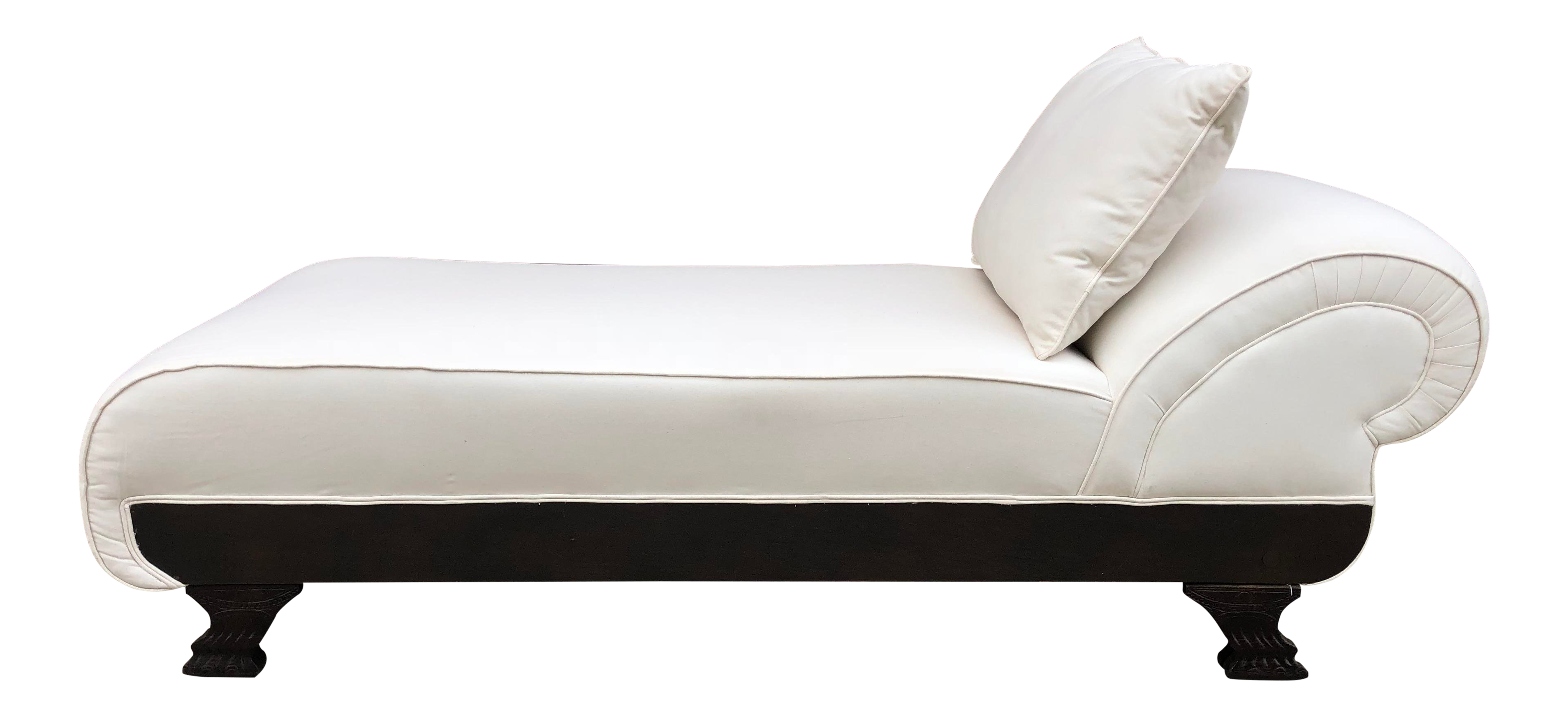 Amazing Late 1800S Victorian White Upholstered Fainting Couch Chaise Unemploymentrelief Wooden Chair Designs For Living Room Unemploymentrelieforg