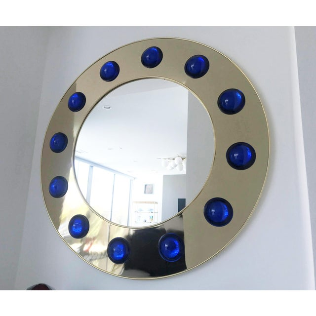 Fabio Ltd Fabio Ltd Marina Round Mirror For Sale - Image 4 of 8