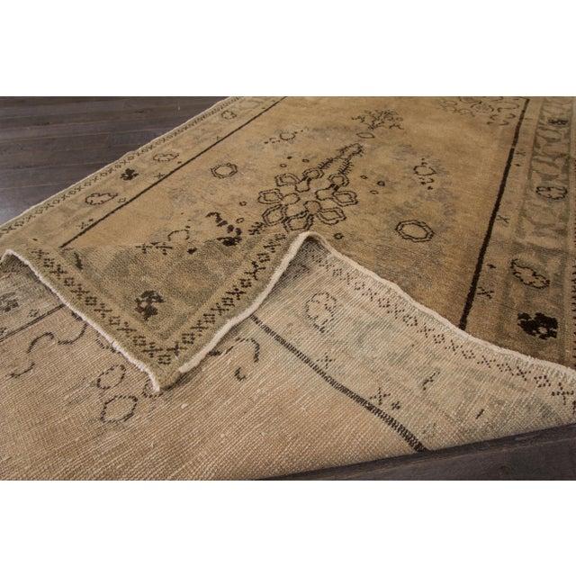 "Traditional Apadana - Vintage Khotan Rug, 6'5"" X 3'3"" For Sale - Image 3 of 4"