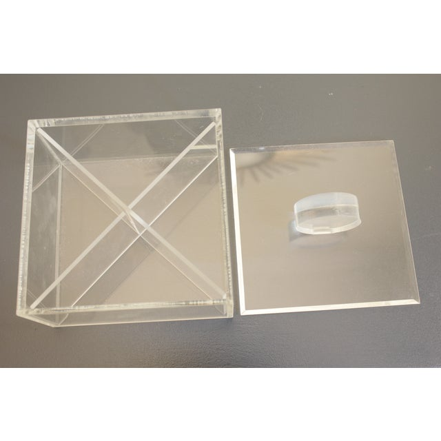 Lucite Decorative Box - Image 5 of 8