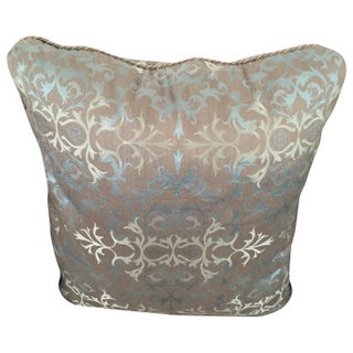 Baker Silk Jacquard Pillows - Set of 3 For Sale