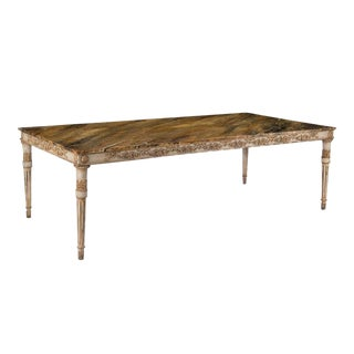 French Provincial Painted Wooden Dining Table