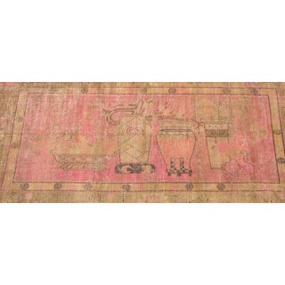 Early 20th Century Antique Khotan Handmade Rug - 6′ × 11′7″ - Size Cat. 6x9 7x10 8x11 Preview