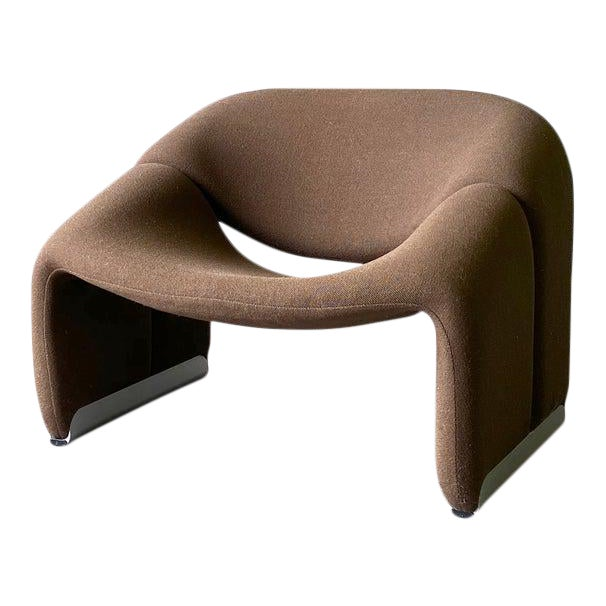 "Mid Century Modern ""Groovy"" Armchair by Pierre Paulin for Artifort, Holland For Sale"