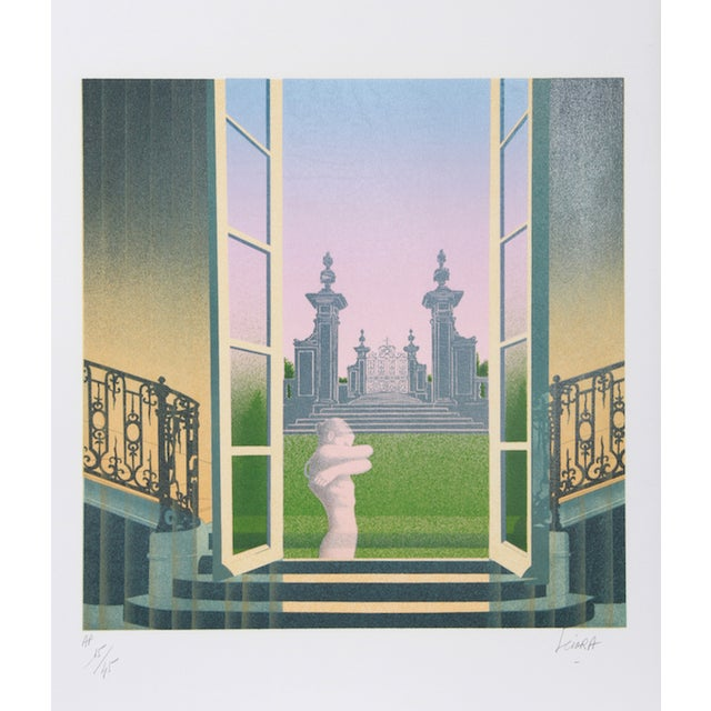 "Daniel Sciora, ""Phantasme,"" Lithograph For Sale"