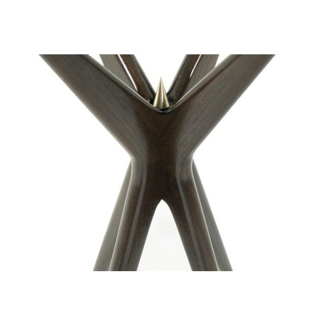 Brown Gazelle Collection Cigar Table For Sale - Image 8 of 12