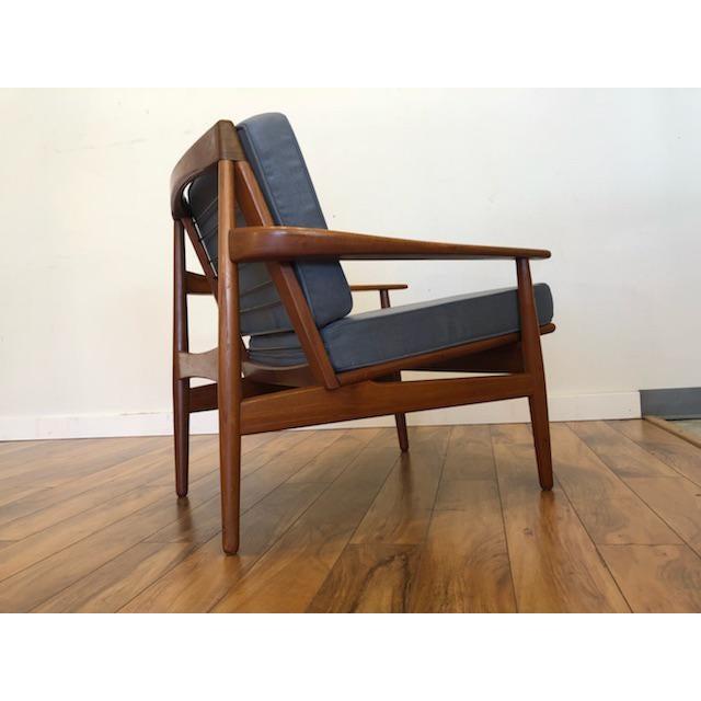 Teak Grete Jalk Danish Teak Lounge Chair For Sale - Image 7 of 13