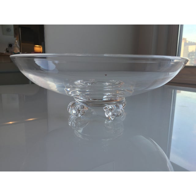 Steuben Footed Bowl - Image 4 of 4
