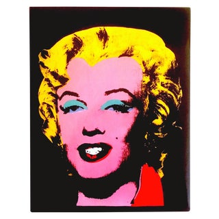 """ Andy Warhol Retrospective "" Iconic Volume Moca Exhibition Collector's Art Book For Sale"