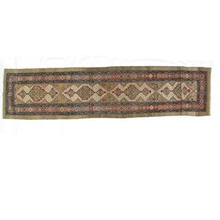 Leon Banilivi Antique Bakhshaish - 3′3″ × 14′2″ For Sale