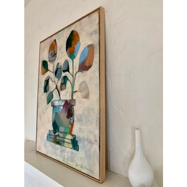 Large Original Abstract Still Life Painting For Sale - Image 4 of 6