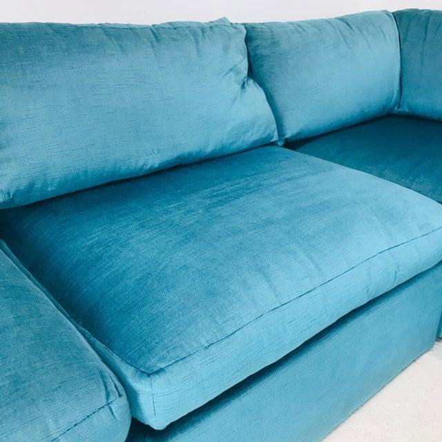 Milo Baughman Milo Baughman Modular Sofa For Sale - Image 4 of 12