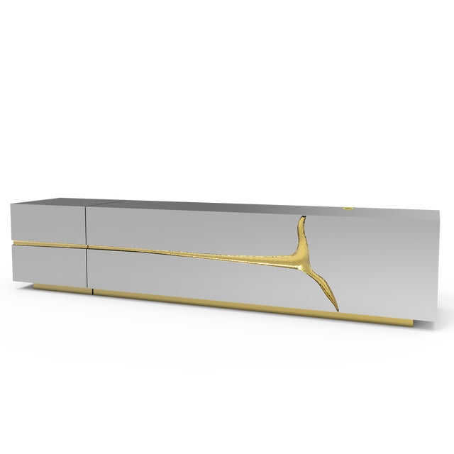 Contemporary Lapiaz Tv Cabinet From Covet Paris For Sale - Image 3 of 9