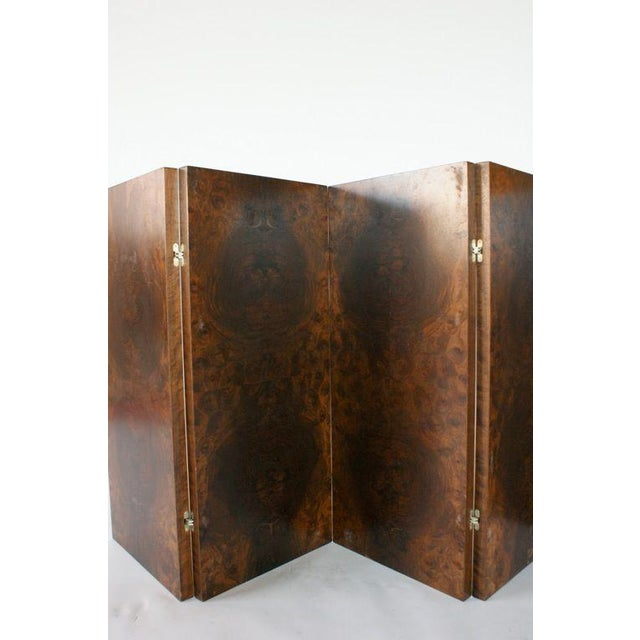 Modern Emile-Jacques Ruhlmann and Edgar Brandt Low Screen For Sale - Image 3 of 9
