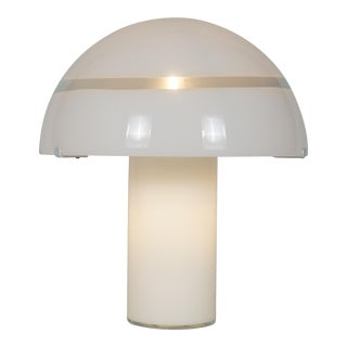 Large Murano Glass Mushroom For Sale