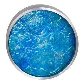 Kx2: Ruth Avra and Dana Kleinman Pipeline (Light Blue) 2018 For Sale