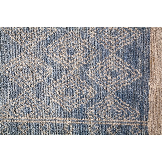 """Tribal Bohemian Hand-Knotted Area Rug 7' 10"""" x 10' 0"""" For Sale - Image 3 of 9"""
