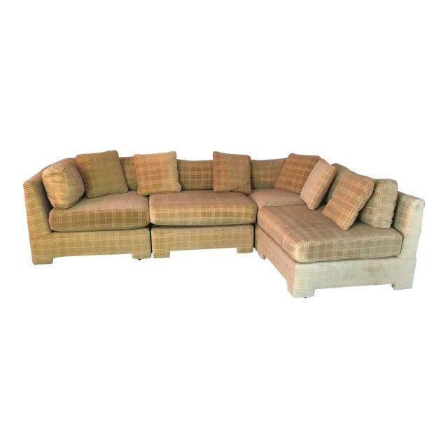 Pleasant Vintage 1970S Sectional Sofa Chairish Creativecarmelina Interior Chair Design Creativecarmelinacom